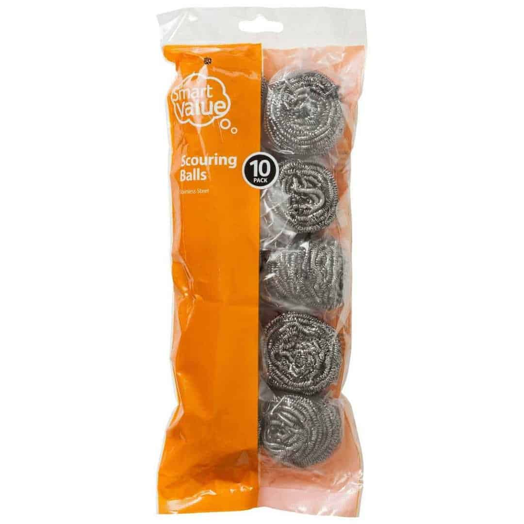 10 packet of steel wool available at Big W