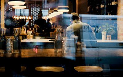 How do restaurants keep flies away?